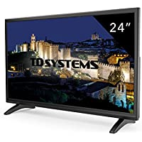 Televisores Led 24 Pulgadas Full HD TD Systems K24DLM7F. Resolución Full HD, HDMI, VGA, USB Reproductor y Grabador. Tv Led TDT HD DVB-T2