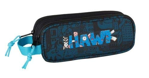 Safta Estuche Tony Hawk «Monster» Oficial Escolar 210x60x80mm
