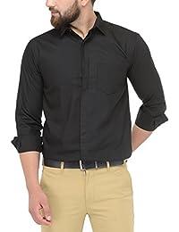 96ba7ba65 Jainish Men's Cotton Formal Shirt For Men's (Available In Various Colour  Options)