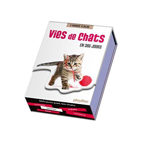 Calendrier Vies de chats en 365 jours - L'Ann�...