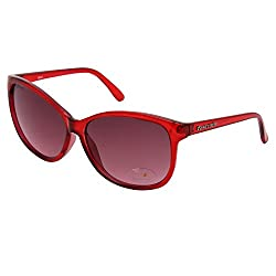 FASTRACK Meroon Cateye Gradient Sunglasses -P242RD2F