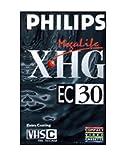 VIDEO CASSETTA NASTRO VERGINE VHS-C EC 30 XHG PHILIPS PER VIDEOCAMERA