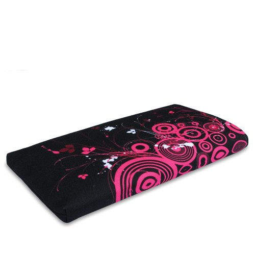 Stilbag Tasche 'MIKA' für Apple iPhone 6 - Design: Abstract Green Pink Loops