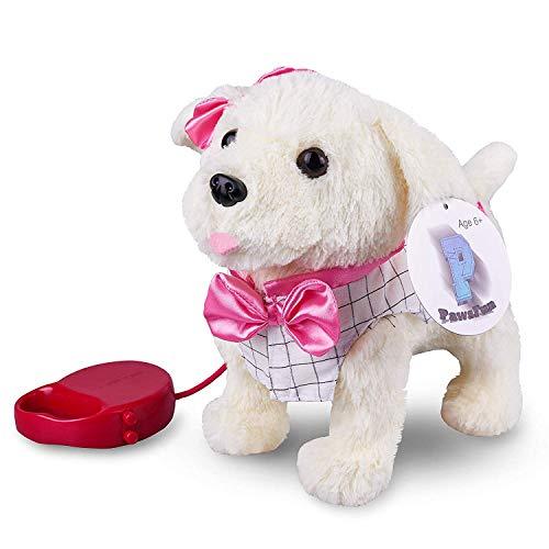 PawsFun Perro Interactivo, Juguete electrónico para niños:...