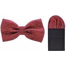 good. Designs Hombre mosca Ajustable y–Cabeza Juego de toallas, diseño de lunares en 3colores, rojo, ajustable