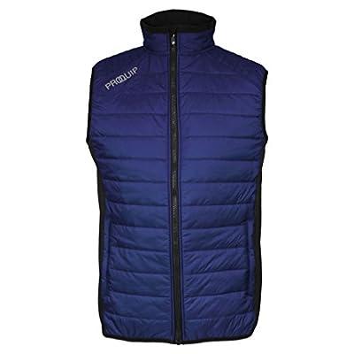 Pro-Quip 2015 PROQUIP Full Zip Therma Tour Quilted Vest Insulated Mens Golf Gilet Black/Grey Small von Pro-Quip auf Outdoor Shop