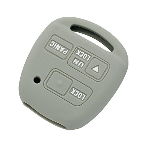 fassport-silicone-cover-skin-jacket-fit-for-toyota-lexus-3-button-remote-key-case-cv2422-grey