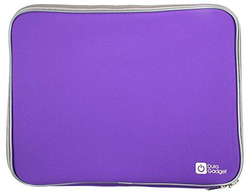 DURAGADGET Wasserabweisende Hülle für MSI GS40 6QE Phantom Laptops (Violett)
