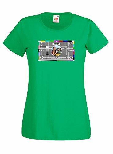 Women's BBC Test Card Skinny T-shirt - XS to XL