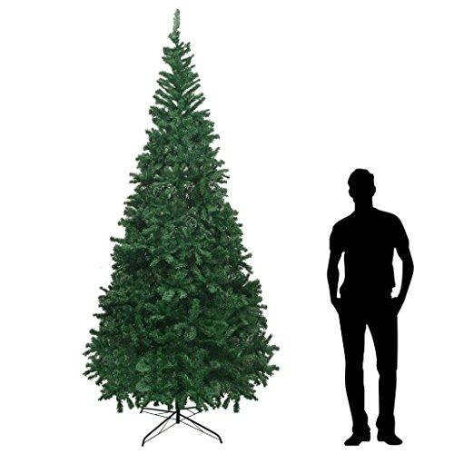 vidaXL Tannenbaum Künstlich XL 300cm Grün Weihnachtsbaum Kunstbaum Christbaum