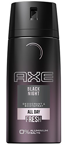 Axe Black Night Deospray, ohne Aluminium, 3er Pack (3 x 150 ml)