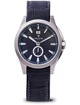 Lancaster Italy - Herren -Armbanduhr OLA0666T/L/SS/BL/BL