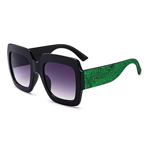 YLNJYJ Cat Eye Sunglass Italia Luxury Women Mirror Sun Glasses Vintage Green Red Sun Glasses Female Google Eyewear