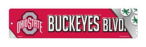 NCAA Ohio State Buckeyes RES Kunststoff Street Zeichen von Rico