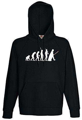 Star Wars Herren Kapuzensweat T-Shirt Evolution Darth Vader ()