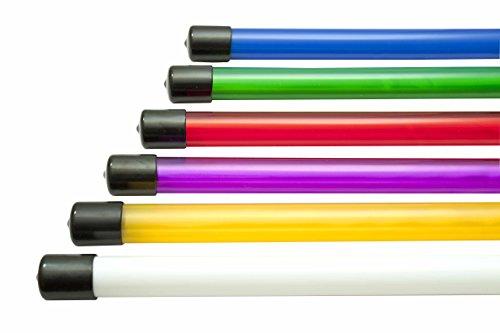 6 tubi metacrilato colori lightpainting