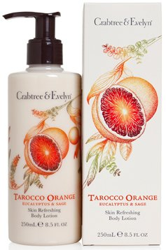 Crabtree & Evelyn Tarocco Orange, Eucalyptus und Salbei Body Lotion 250 ml - Salbei Lotion