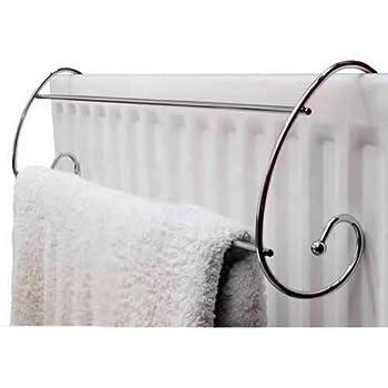 Loop Chromed Steel Circular Under Sink Towel Rail