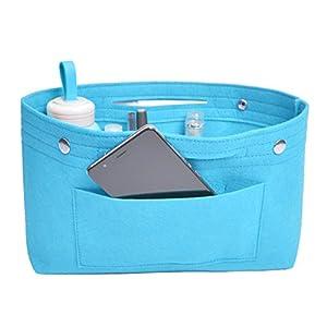 NOTAG Handtaschen Organizer, Filz Taschenorganizer Multi-Taschen Organizer Innentaschen für Handtaschen mit…
