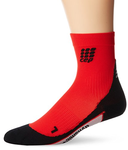 n/Sportsocken dynamic + short socks schwarz/rot Gr. 4 ()