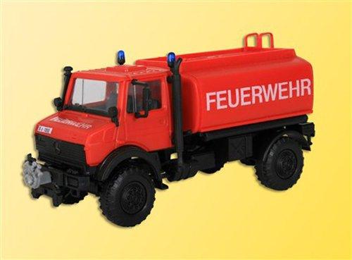 """Kibri 18272\"""" H0 Feuerwehr UNIMOG mit Wasserbehälter Fahrzeug"""