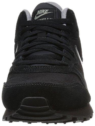 Nike Wmns Md Runner 2 Mid, Chaussures de Sport Femme Noir (Black / Black-Cool Grey-SMMT Wht)