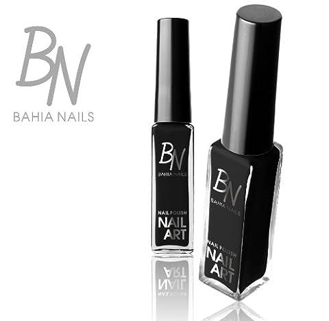 Bahia Nails -VERNIS NAIL ART LINER STRIPER NOIR