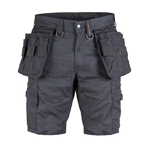 Preisvergleich Produktbild Dunderdon Workwear P55S Zimmermann's Vantage Shorts, schwarz, W33