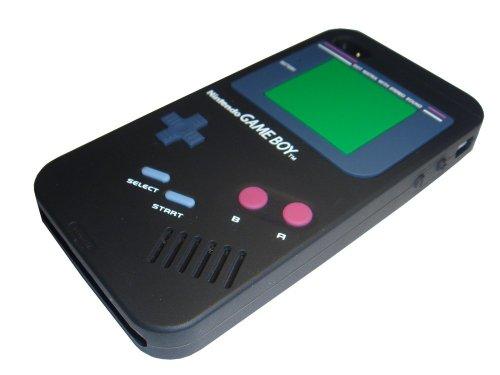 Xcessor Fun Line Housse en Silicone pour iPhone 4/4S noir