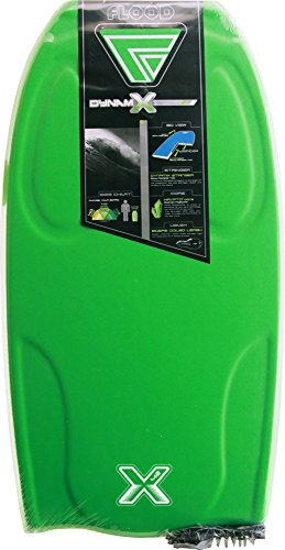 FLOOD Dynamx Eps Str Bb W/Stringer Bodyboard, Unisex adulto, Verde /...