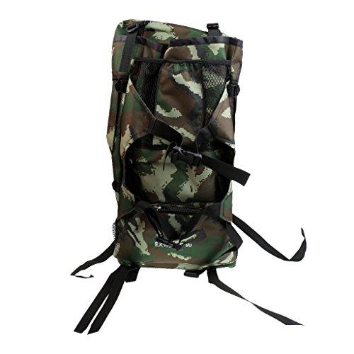 MagiDeal 90L Grande Zaini Mmilitare da Escursionismo Campeggio Di Caccia Del Camuffamento Sacchetto per All'aperto - #3 #2