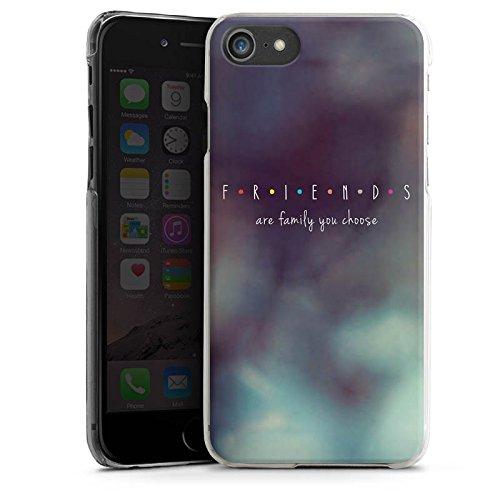 Apple iPhone X Silikon Hülle Case Schutzhülle Friends Freunde Familie Hard Case transparent