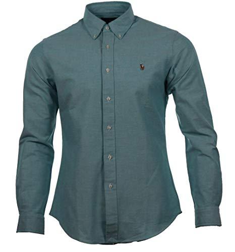Ralph Lauren Herren Hemd, Slim Fit Stretch Oxford SL BD Ppc SPT Große; M