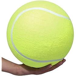 Entrenamiento del perrito de perro de juguete para mascotas Ardisle XXXL pelota de tenis gigante Jumbo Ejercicio 24cm de la novedad