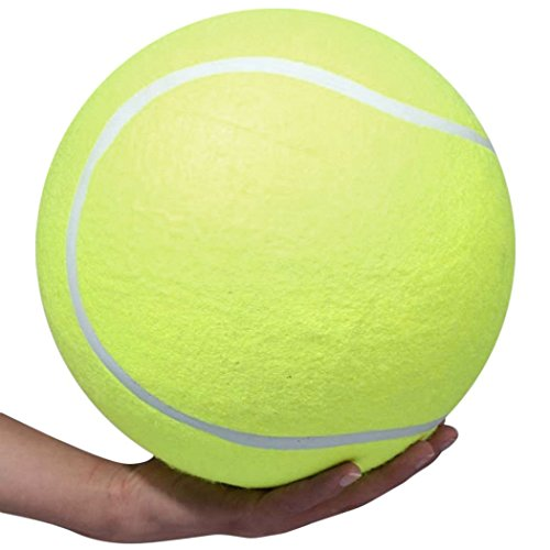 ardisle-xxxl-pet-tennis-ball-toy-dog-puppy-training-exercise-gigante-jumbo-24-centimetri-novita