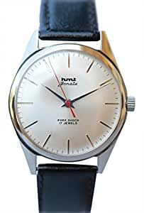 HMT Silver Dial Analogue Watch for Men (Janata Silver)