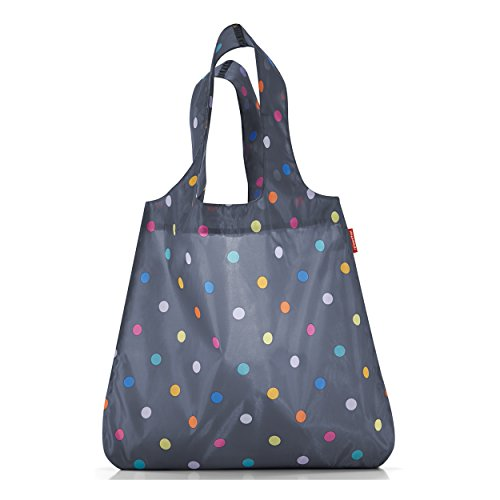 Reisenthel AT4057 Einkaufstasche, Polyester, marine dots, 43.5 x 60 x 7 cm (Multi Dot Big)