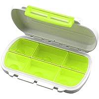 Multifunktionale kompakte Größe Medizin Pill Box Portable 6 Gitter Reise Medizin Halter Tablet Aufbewahrungskoffer... preisvergleich bei billige-tabletten.eu