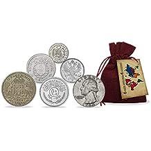 IMPACTO COLECCIONABLES Monedas de Plata - 6 Piezas Únicas provenientes de los 6 Continentes
