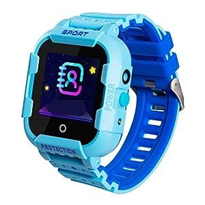 JBC GPS-Telefon Kinder Uhr Kleiner Weltentdecker Wasserdicht OHNE Abhörfunktion, SOS+Notruf+Telefonfunktion, Live GPS…