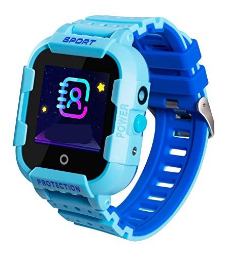 JBC Kinder GPS Uhr/Smartwatch Outdoor (ohne Abhörfunktion) (Blau)