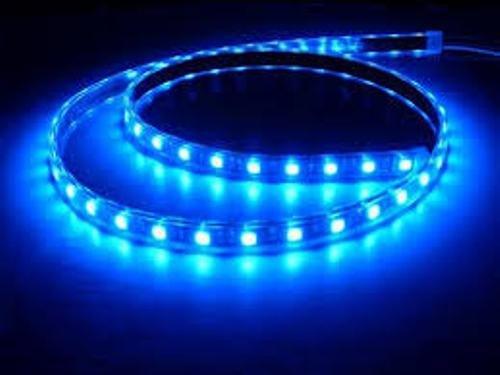 Tira Luz Flexible LED Tamaño (30cm y 90cm) y Color (Blanco, Azul, Rojo) a elegir Impermeable para Coche o Motocicleta (30cm, Azul)