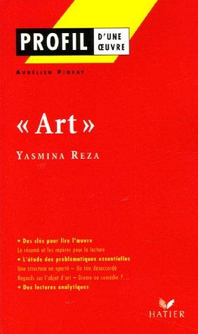 Profil d'une oeuvre : Art de Yasmina Reza