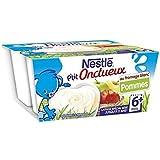Nestlé p'tit onctueux au fromage blanc saveur pommes 4x100g dès 6 mois - ( Prix Unitaire ) - Envoi Rapide Et Soignée