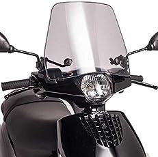 Spedy Scooty Fiber Glass Front Windshield for TVS Jupiter