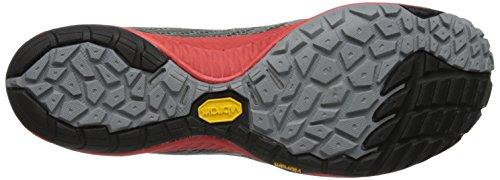 Merrell - TRAIL GLOVE 3, Scarpe outdoor multisport da uomo Grigio (Grey/Red)