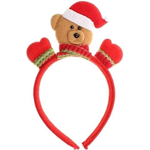 Ragazze e ragazzi Cute Natale 3d Orsetto