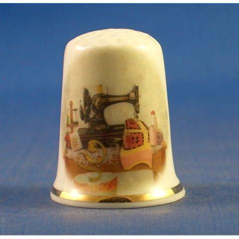 Birchcroft in porcellana China-Ditale-- da tavolo da cucire Vintage - Quilting Tavolo