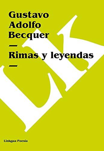 Rimas y leyendas (Poesia) por Gustavo Adolfo Bécquer