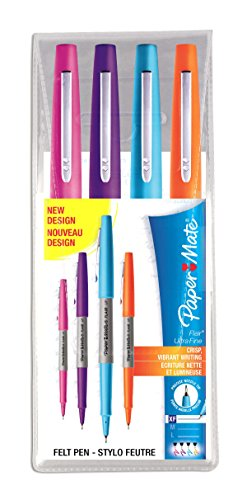 papermate-flair-ultra-pointe-fine-assortiment-lot-de-4